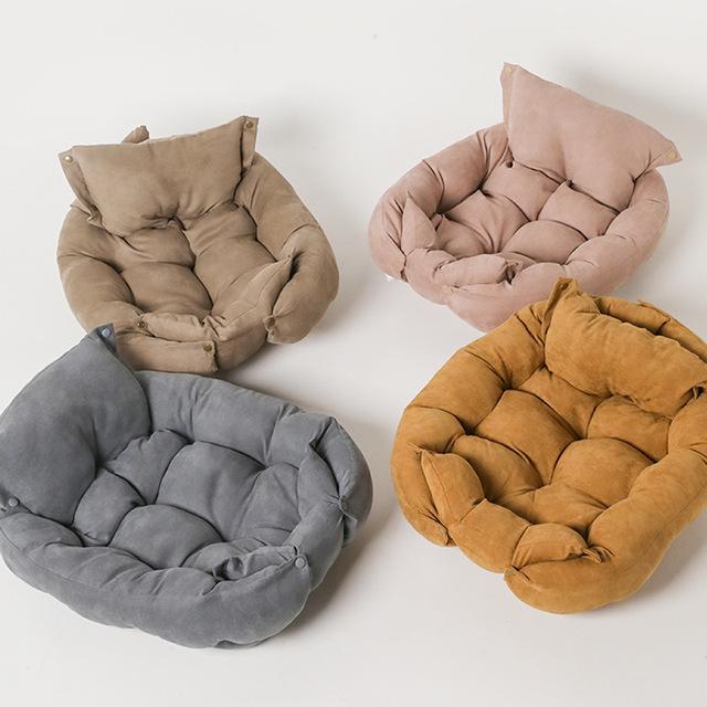 IBeans Multifunctional folding square cushion pet sofa bed dog cushion can transform multi-purpose d
