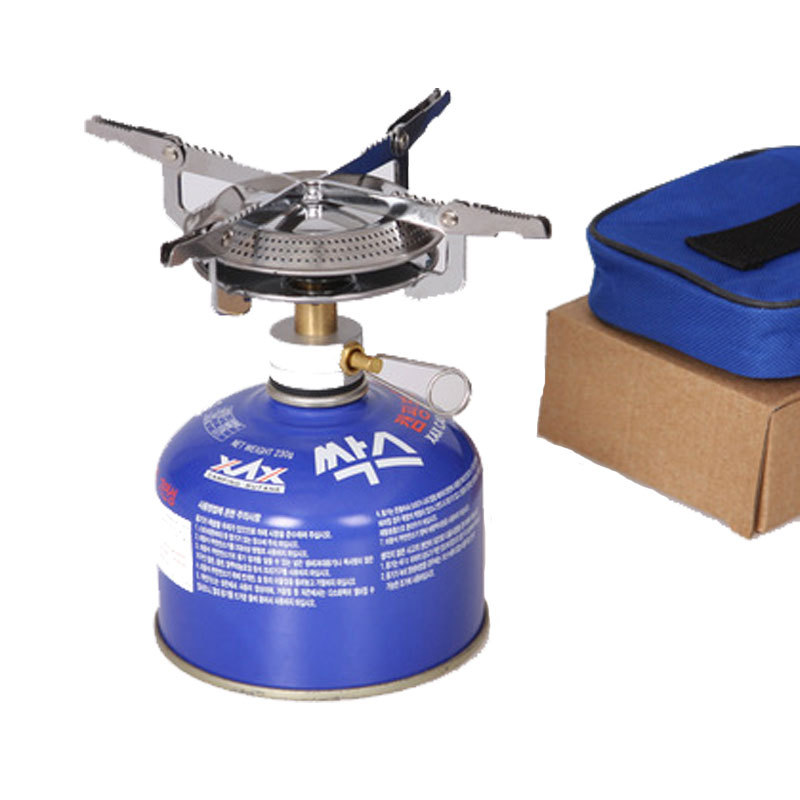 Camping stove, disc stove, gas stove, outdoor picnic camping cookware supplies
