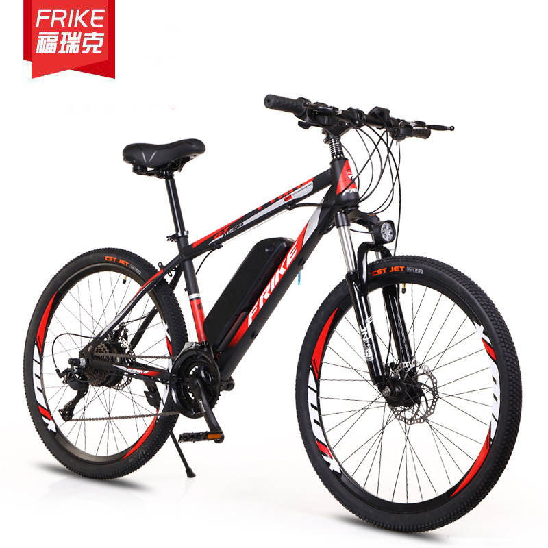 26 inch electric lithium battery mountain bike bicycle adult variable speed off-road power-assisted