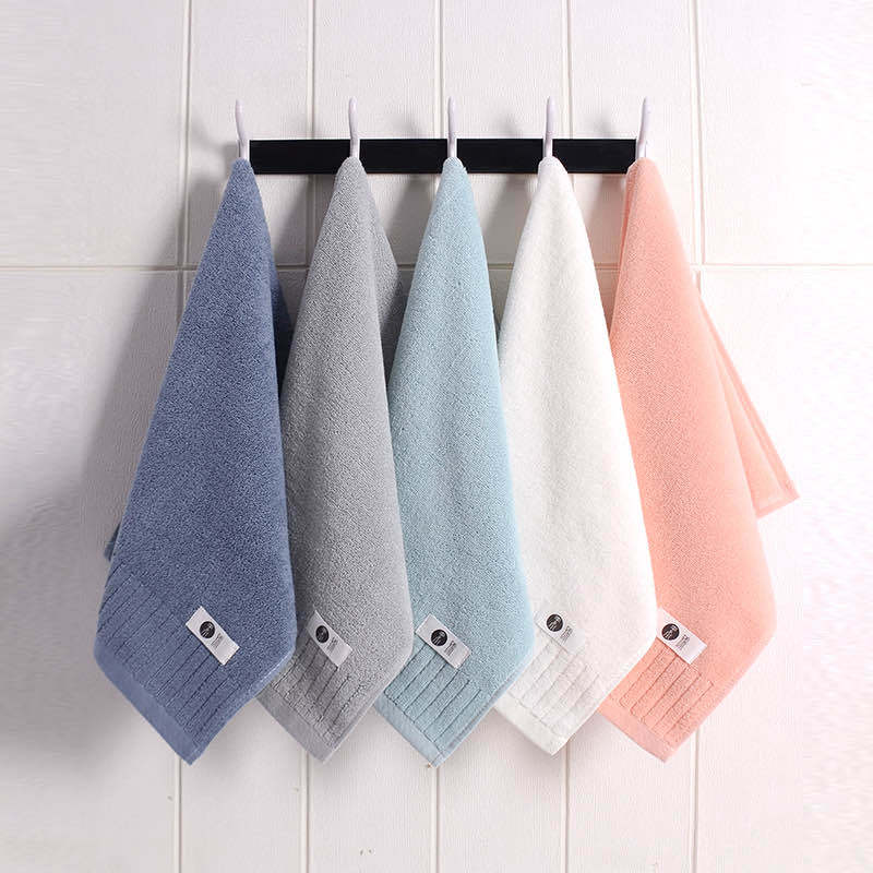 Pure Pigment Color Cotton Towel Household Soft Absorbent Company Gift Towel