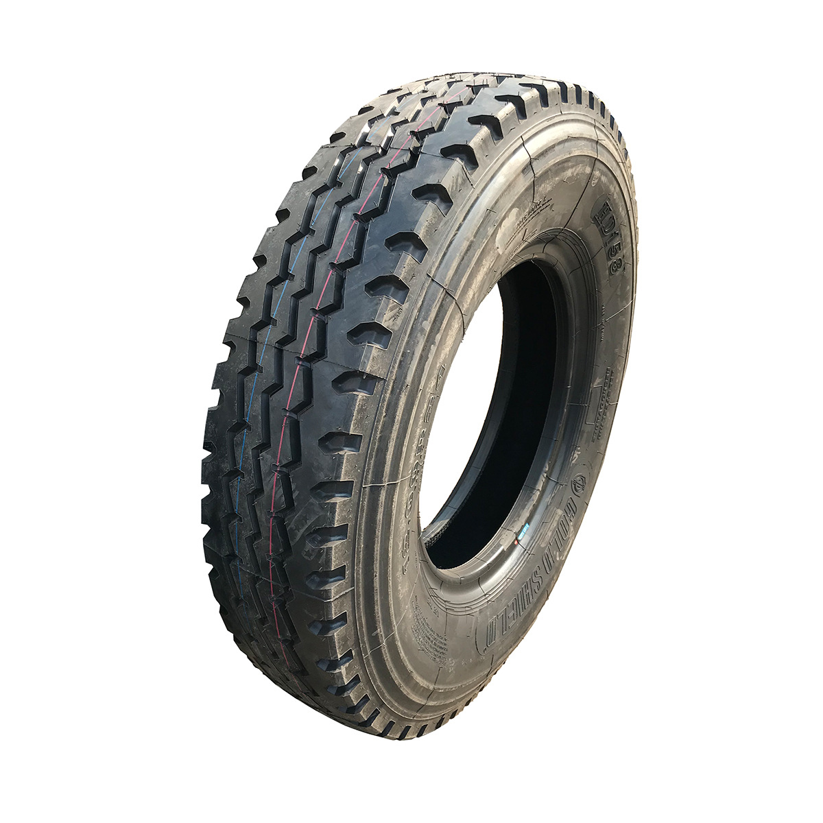 Heavy-duty truck mine special tires 1200R24 port trailer tires are not three packs of construction m