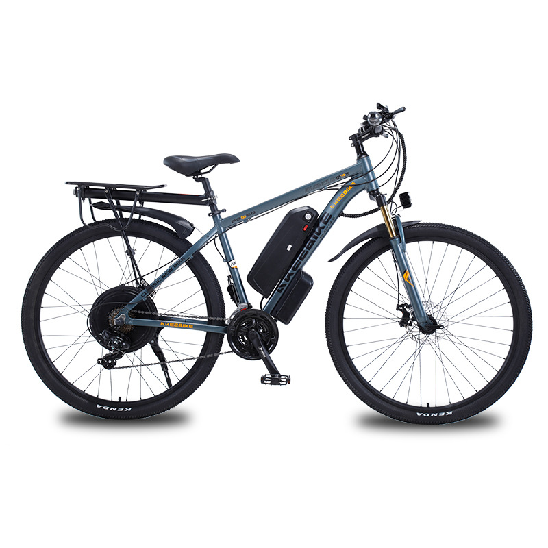 29 inch aluminum alloy adult power-assisted lithium battery bicycle 48V1000W mountain bike long batt