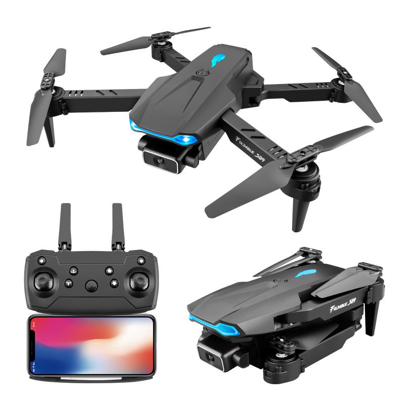 S89 remote control aircraft cross-border toy quadcopter 4K HD aerial photography folding cross-borde
