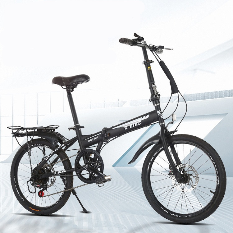 20 inch variable speed folding bicycle for adults