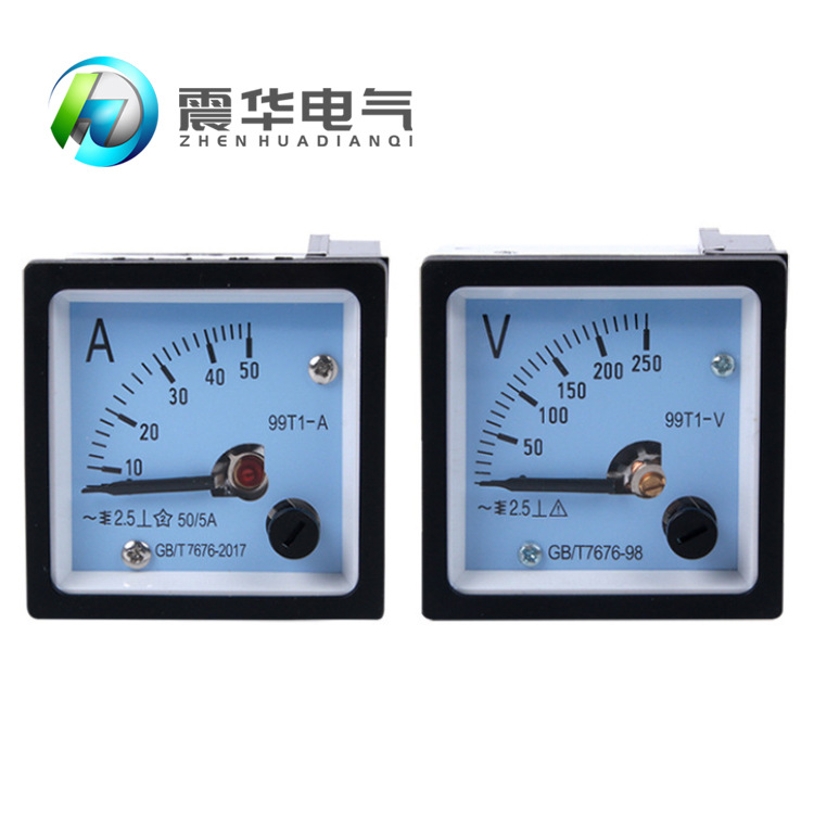 CHKL Customized current and voltmeter 99T1 pointer voltage measuring instrument