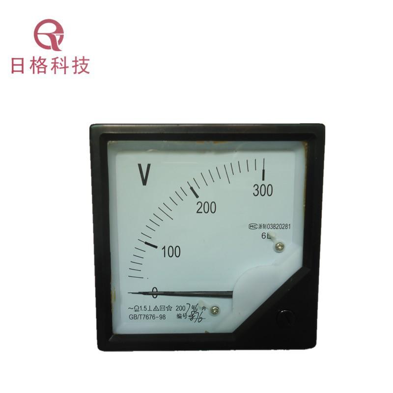 AC voltmeter 6L2 300V pointer type voltage measuring instrument