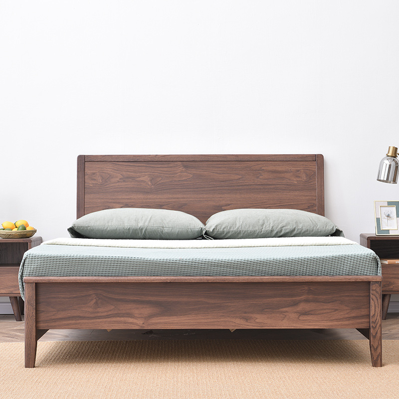 Weisha modern minimalist storage sheets double master bedroom furniture 1.8 meters 1.5 log high box