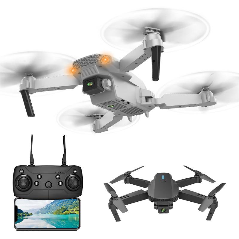 TENXIND E58 UAV cross-border folding 4k aerial photography HD quadcopter wifi fixed height remote co