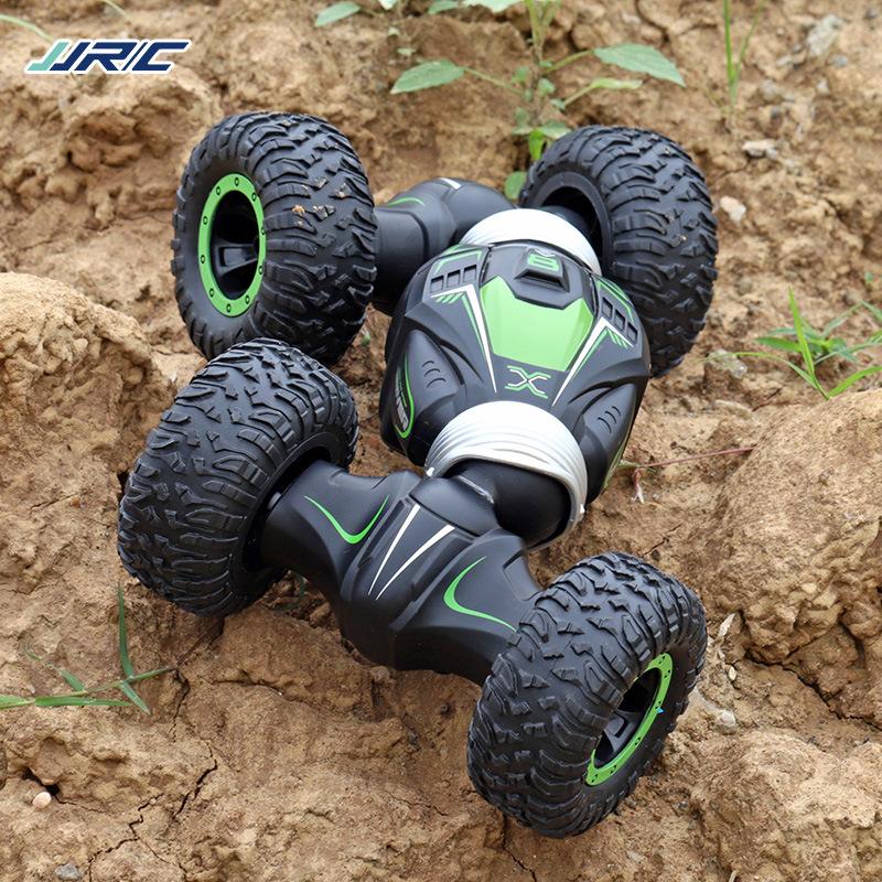 JRC child boy remote control climbing car twisting car charging one-button deformation car toy