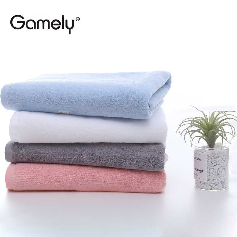 GAMELY Jiajieli Hefeng Long-staple Cotton A Pure Color Cotton Towel 100g Pure Cotton Household Bed a
