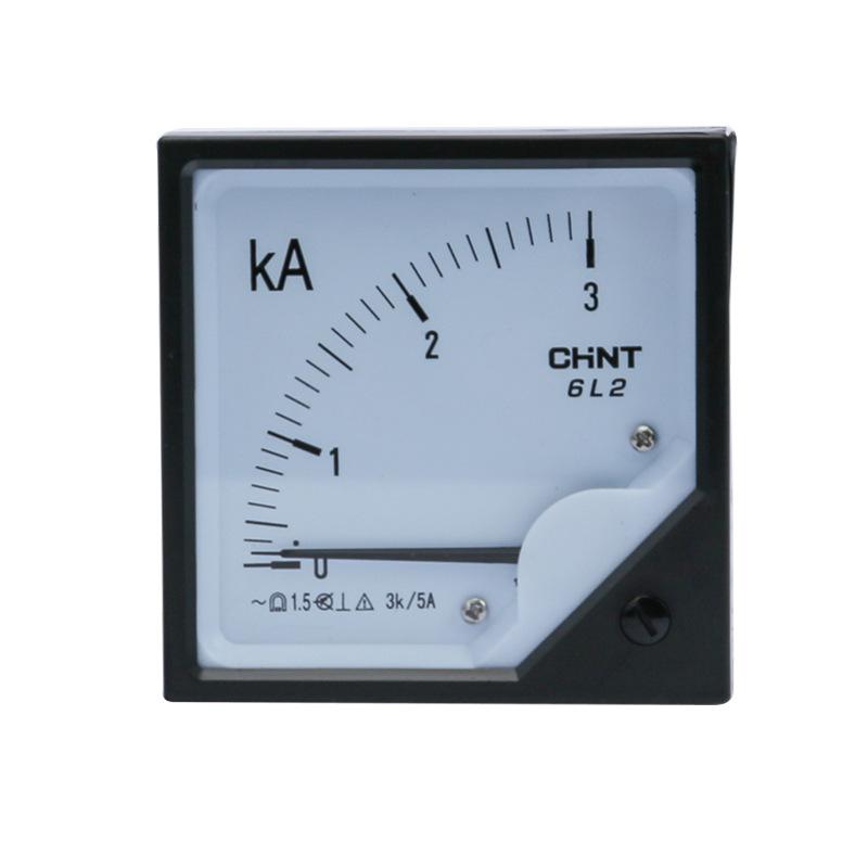 CHINT Zhengtai 6L2-A 3000/5A pointer current measuring instrument 450V straight-through ammeter volt