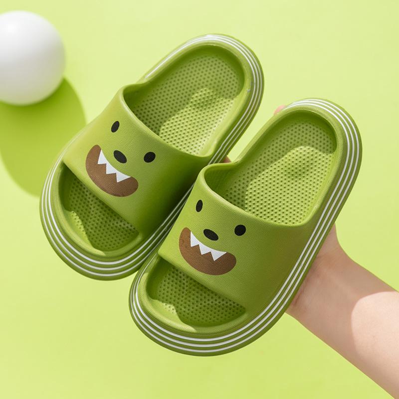 Children's sandals and slippers summer men's home bathroom bath non-slip soft bottom home cute car