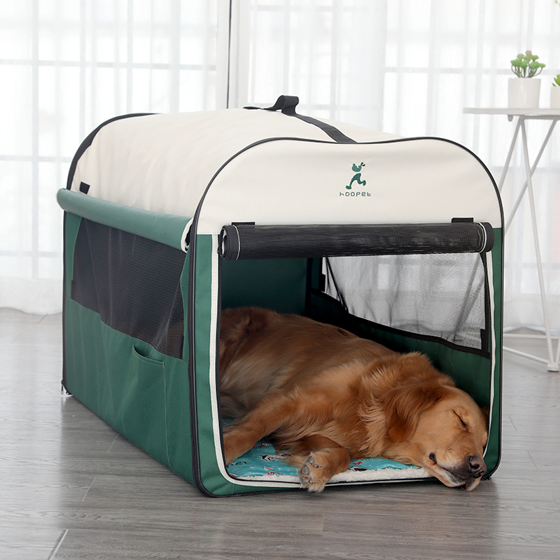 Hoopet Dog Kennel Warm Large Dog Dog House Winter Dog Cage Indoor Outdoor House Outdoor Tent Pet Fou