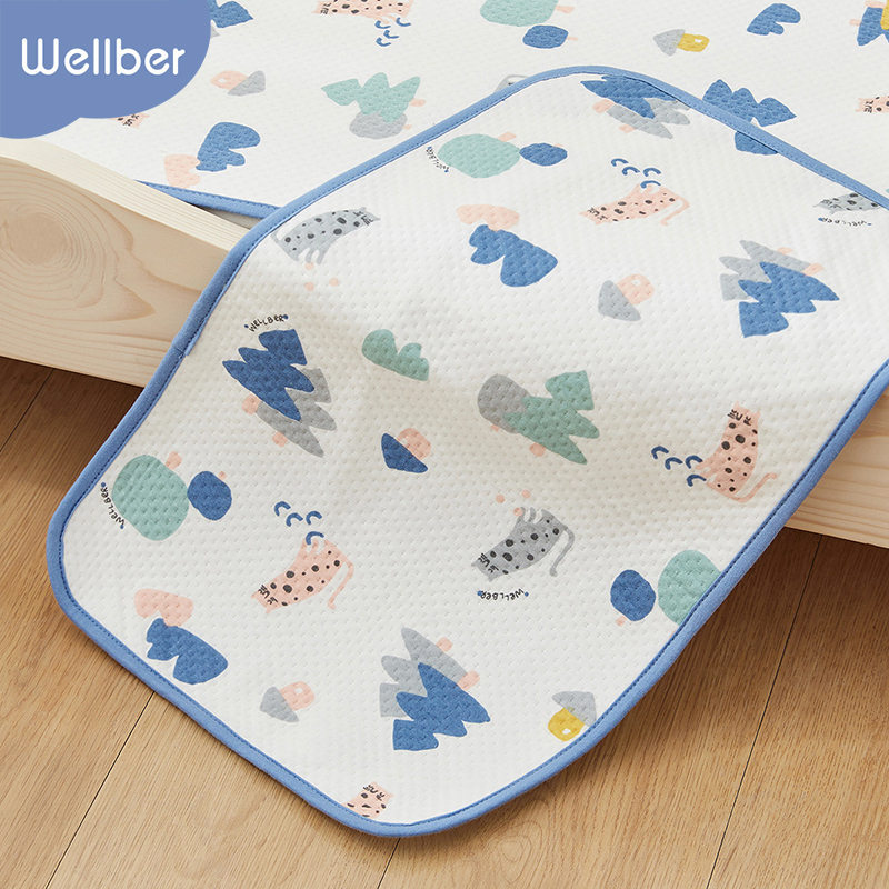 Wilberu baby changing pad four seasons breathable diaper pad newborn baby diaper pad