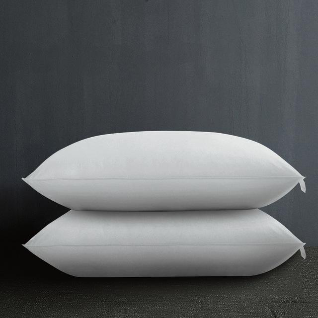 Cotton feather-proof fabric feather velvet pillow, hotel linen, hotel supplies pillow