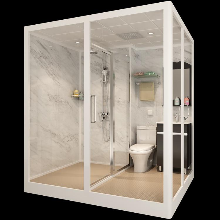 Integral toilet bathroom bathroom integrated shower room bathroom toilet hotel cabin
