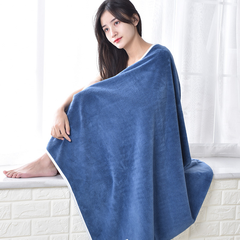 Single pack of active Yuan large bath towels absorb water and are not easy to shed hair. Labor insur